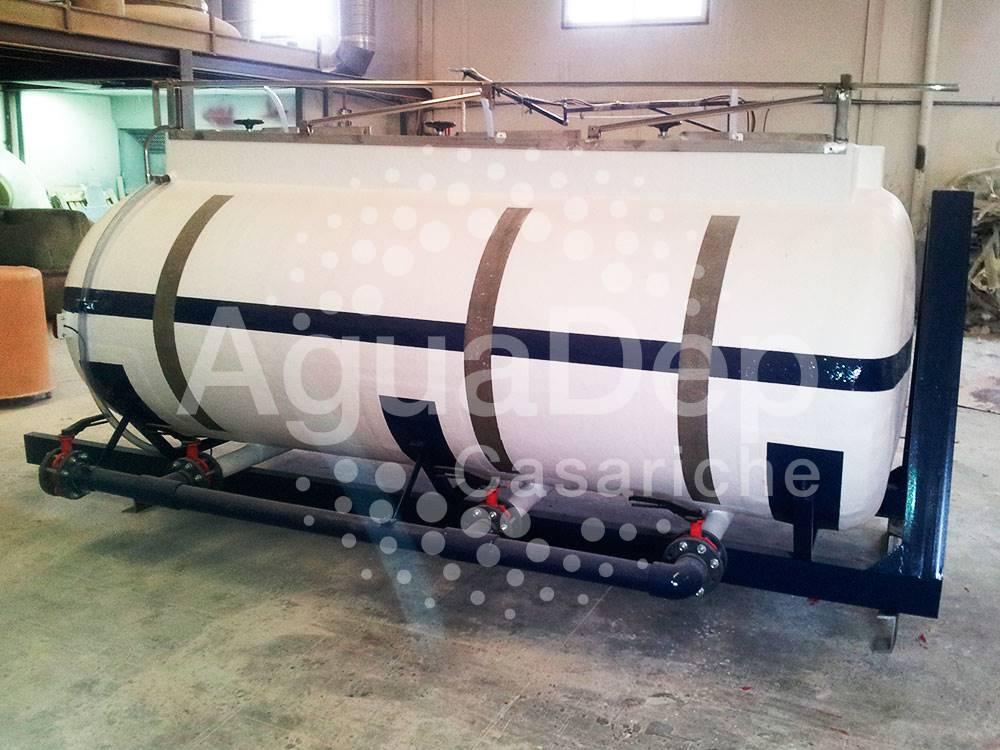 Cisterna con multilift