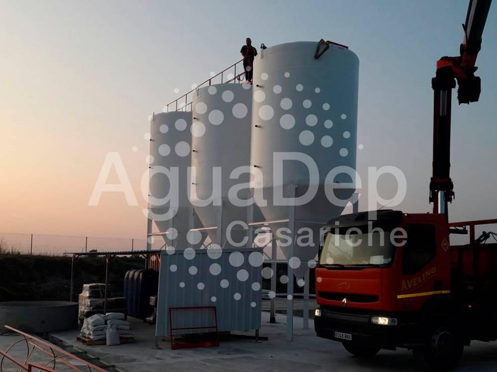 Decantadores y silos